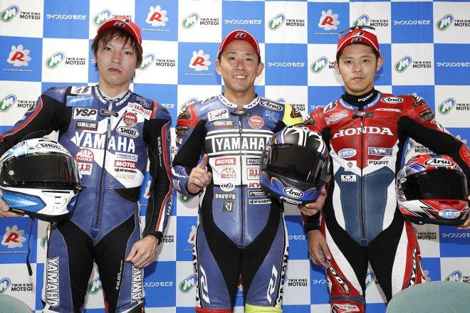 ヤマハ中須賀「自分の肩がどれだけもつか心配だった」/全日本ロード第6戦JSB1000決勝会見