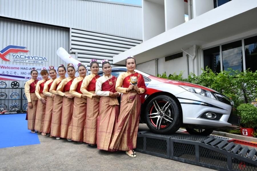タイの美女がお出迎え! 世界の自動車関連メーカーを支える「YACHIYODA」とは