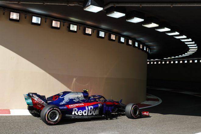 ホンダ田辺TD「ギヤボックスにトラブルも、パワーユニットには大きな影響なし。スムーズな初日」:F1アブダビGP金曜