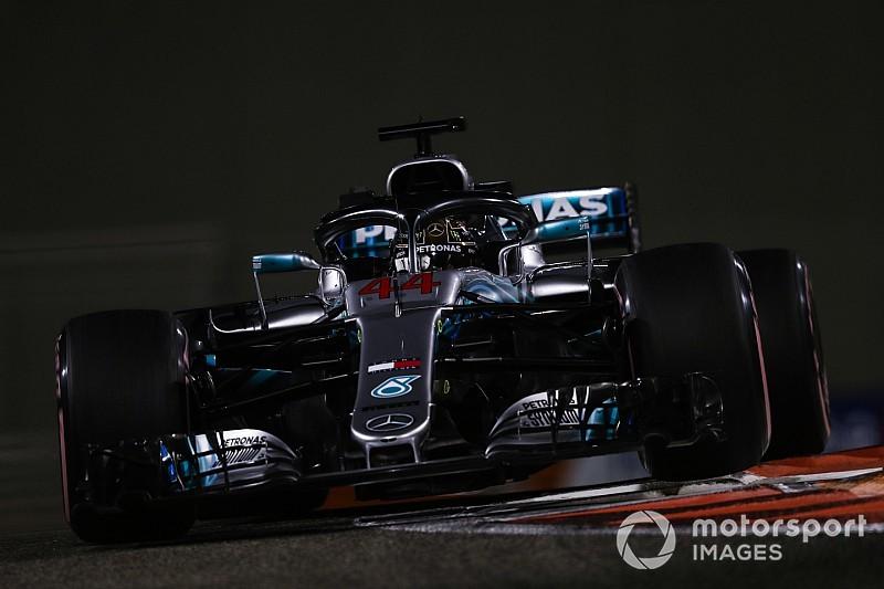 F1アブダビGP予選速報|ハミルトンのレコード更新でメルセデスがフロントロウ独占。トロロッソは2台がQ1敗退