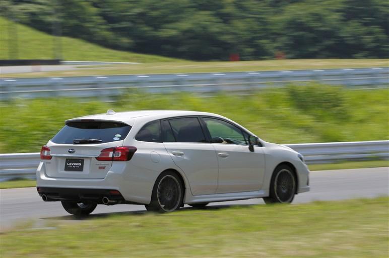 【速報】レヴォーグの新グレード、STI Sportに試乗。乗り心地の向上に衝撃