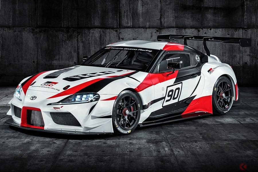 トヨタが東京オートサロン2019で新型「スープラ」のスーパーGTマシン初公開 「GRシリーズ」新型車も同時発表