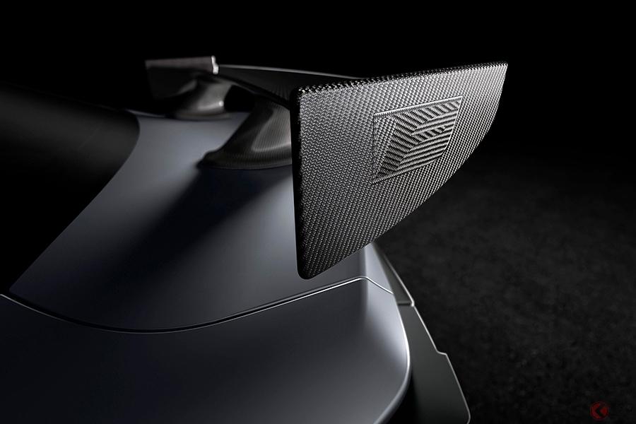 レクサス新型「RC F」を北米国際自動車ショー2019で発表 軽量高剛性のカーボンウイングを装着か!?