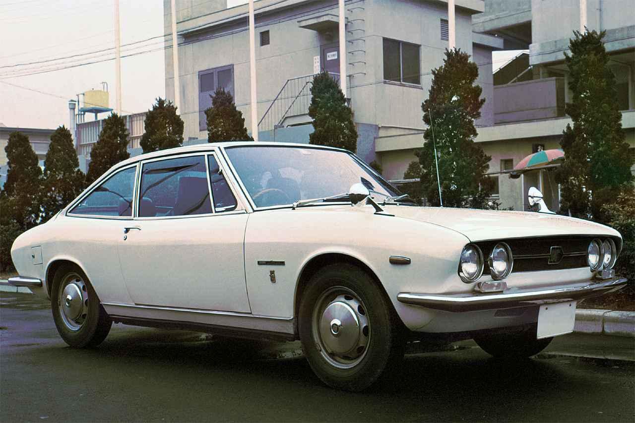 【昭和の名車 22】いすゞ 117クーペ(昭和43年:1968年)
