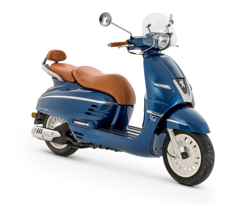 プジョーのスクーターに記念モデルが登場! 150cc仕様の「ジャンゴ120thリミテッドエディション」