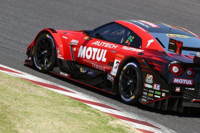 ランキングトップのウエイトハンデ49kgでフリー走行3番手ながら、MOTUL GT-RがQ1敗退「硬いのを選んだ」と次生