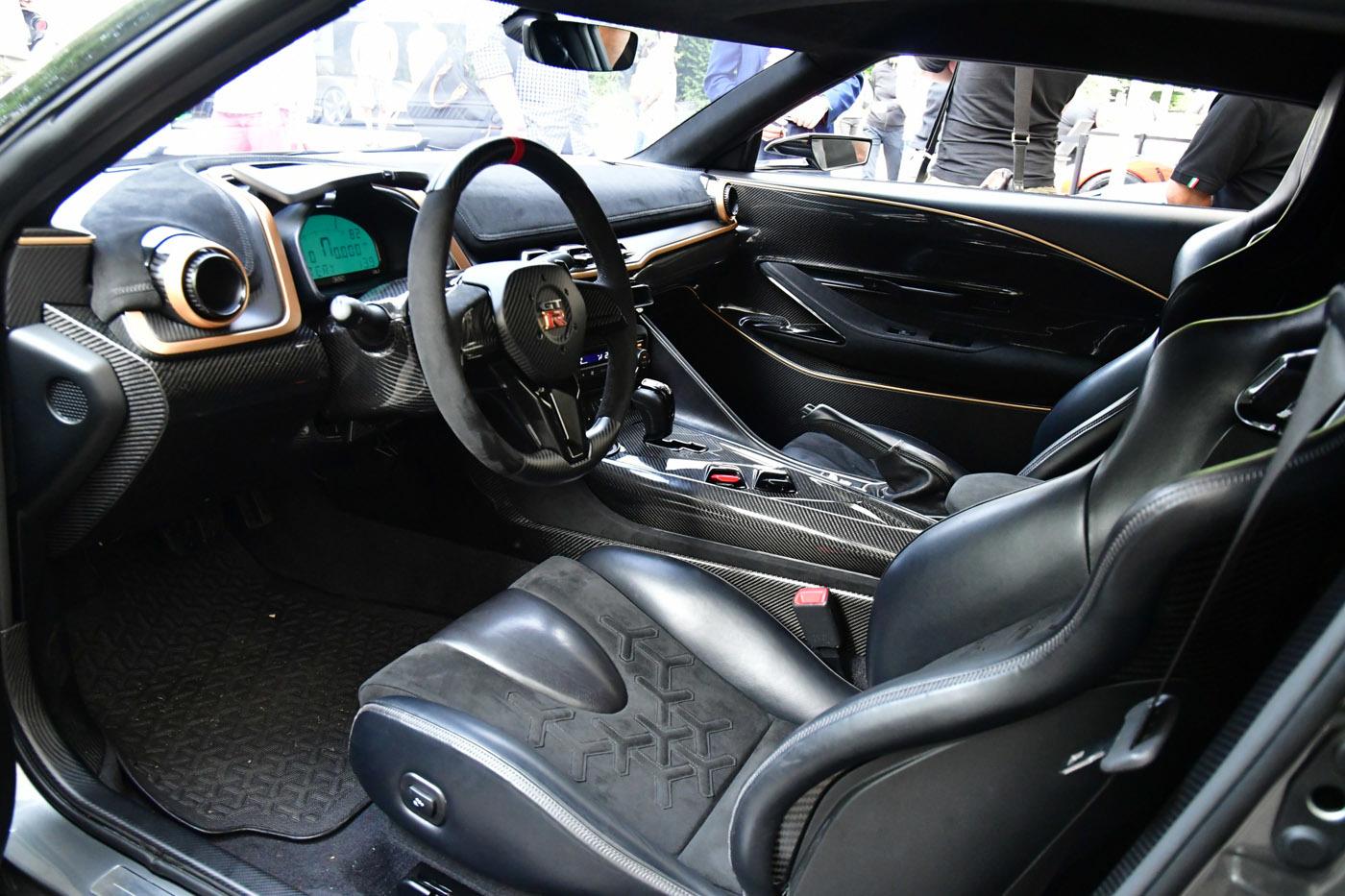 お値段9200万円!!!! 「GT-R 50 byイタルデザイン」の中身が尋常じゃない