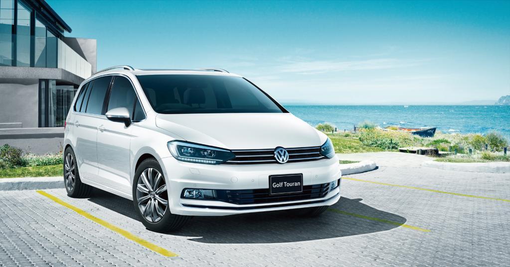 VWゴルフトゥーランにアダプティブハイビームが追加され、安全性がさらにアップ!