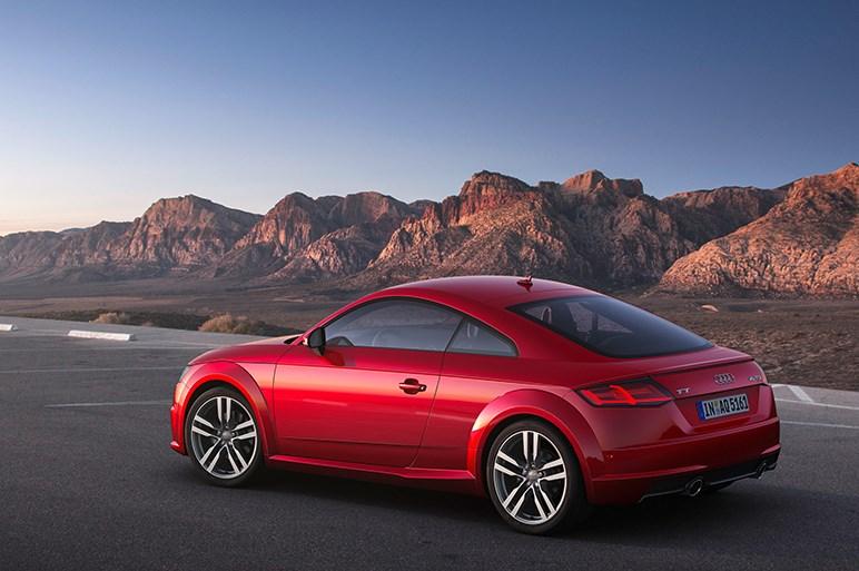 アウディ、TTシリーズのマイナーチェンジを本国で発表。デザインや機能を向上