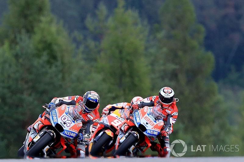 """得意のスタートを活かせなかったロレンソ、""""全く新しい""""戦略でレースを戦う「バイクの乗り方を大きく変えた」/MotoGPチェコ決勝"""