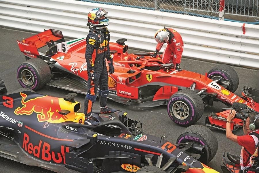 F1 ダニエル・リチャルド レッドブルからルノーへ移籍