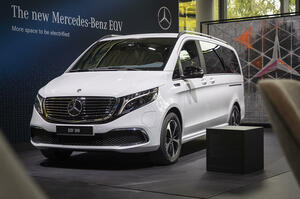 【EV版Vクラス】M・ベンツEQV、欧州価格が判明 邦貨964万円から 英国で受注開始