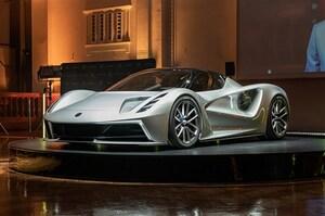 ロータス、フルEVのハイパーカー「エヴァイヤ」発表。価格は約2.3億円で2020年に発売へ