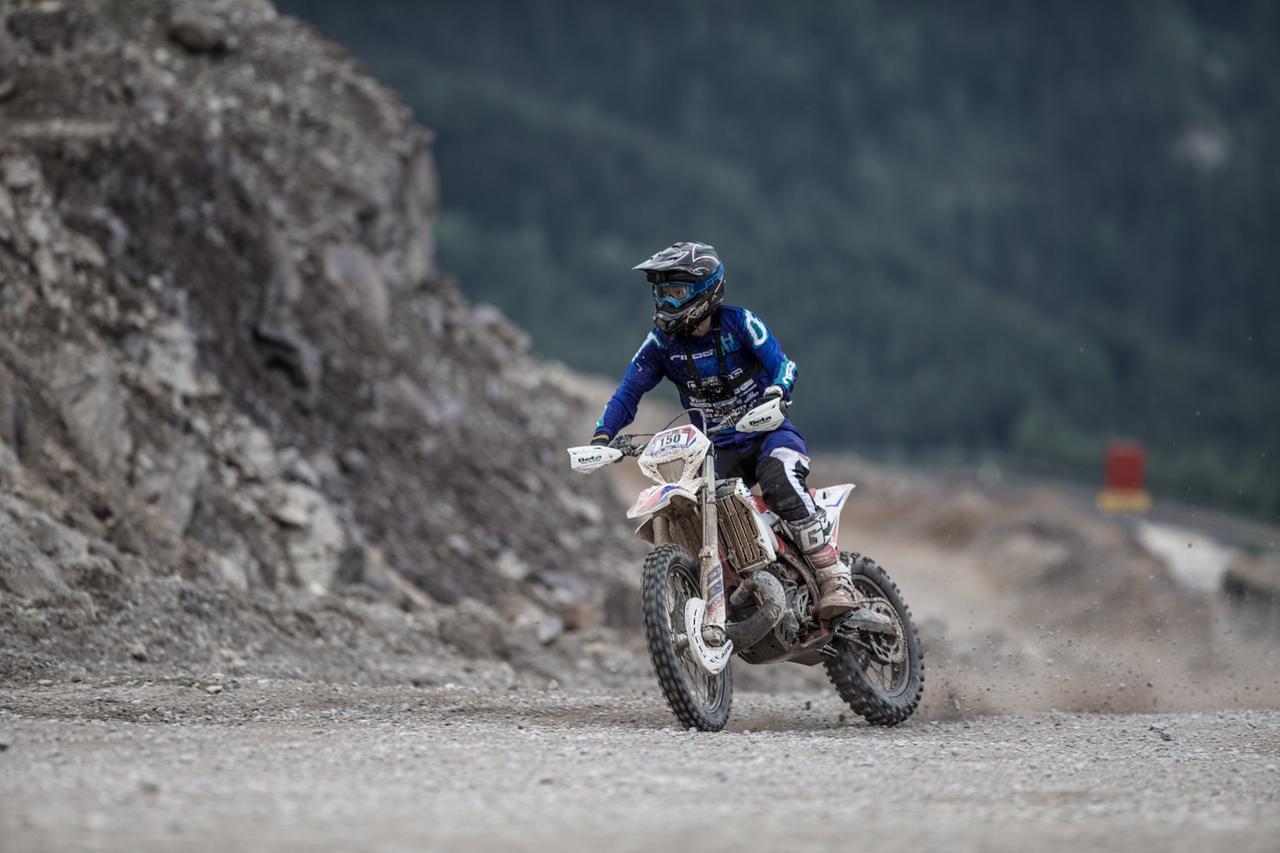 Motocross Baby Body Evolution Motorrad
