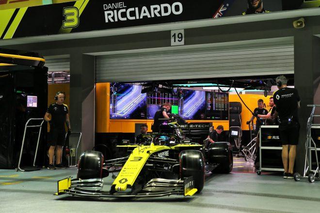 予選8番手のリカルドが失格に。ルノーがパワーユニット関連規則に違反:F1シンガポールGP