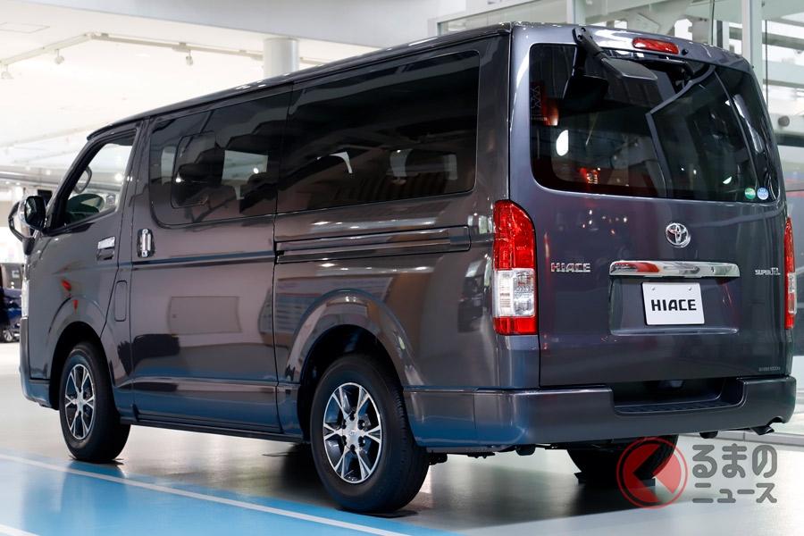 トヨタ「ハイエース」なぜ売れる? 日産「キャラバン」より高い人気を誇る理由