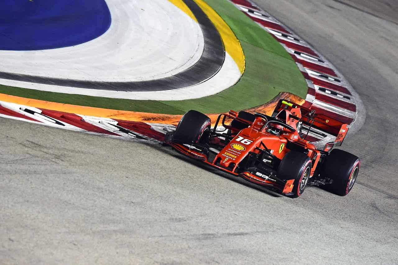 F1第15戦シンガポールGP予選、ルクレールが3戦連続ポール、フェルスタッペンはまさかの4番手【モータースポーツ】