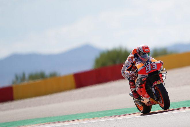 MotoGPアラゴンGP:マルケス、グランプリ参戦200戦目を完ぺきなポール・トゥ・ウインで飾る。中上は粘りの10位