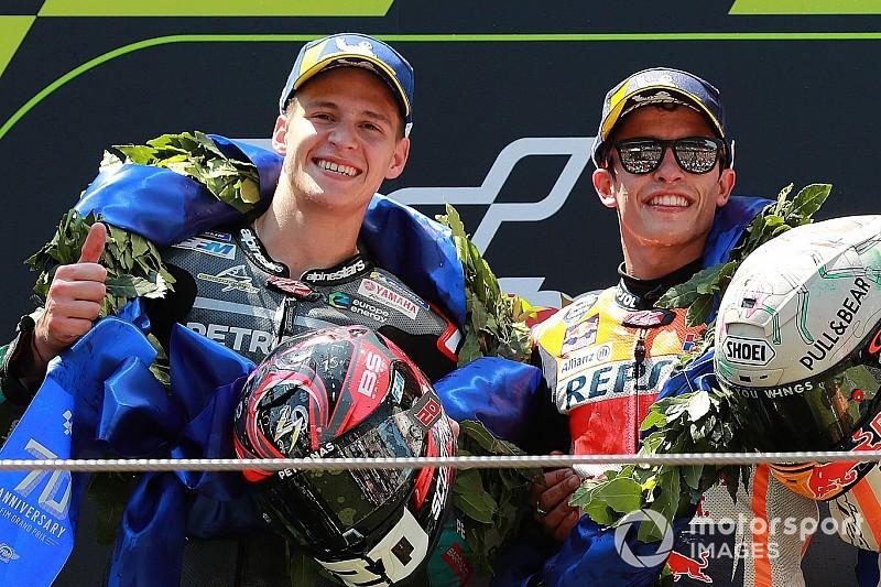 【MotoGP】クアルタラロはマルケスの好敵手に? ミック・ドゥーハンもその速さに期待