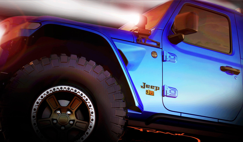 ジープ、6台のコンセプトカーを一斉披露。クラシックカーのマッシュアップなど多彩なラインナップ