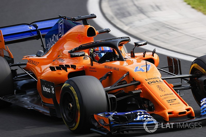 マクラーレン育成ランド・ノリス、ベルギーGPのFP1走行が決定。F1デビューに向け一歩前進!?