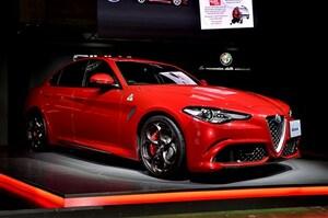 アルファロメオ・ジュリアを日本発売。SUVのステルヴィオも日本初披露