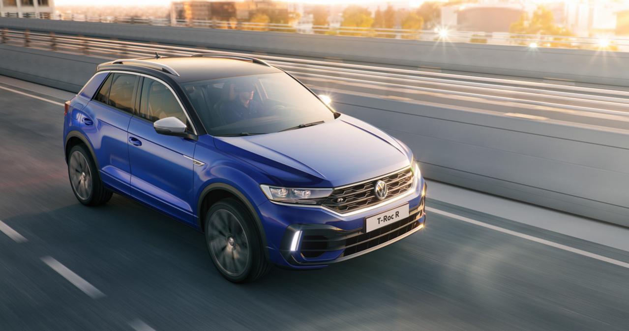 フォルクスワーゲンの新型SUV「T-ROC」に設定された最上級版「T-ROC R」が欧州で受注開始! 価格は約520万円