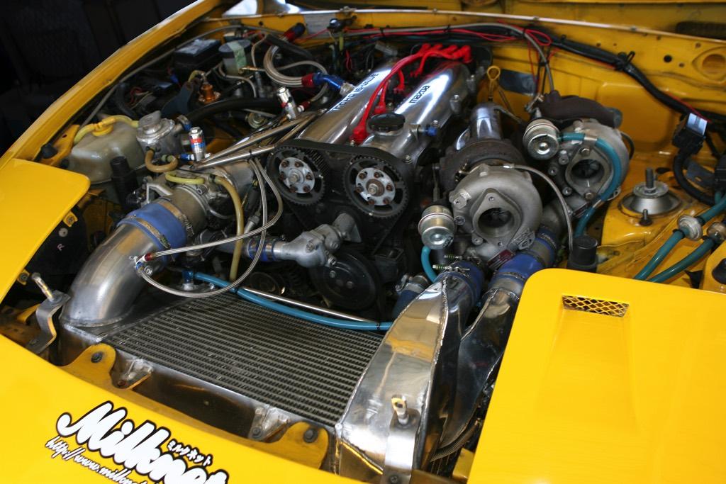 「1.6Lエンジンにツインターボ+NOSで500馬力!」大排気量キラーのNAロードスター現る!