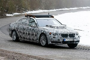 BMWの新フラッグシップSAV「X7」の開発車両を捕獲