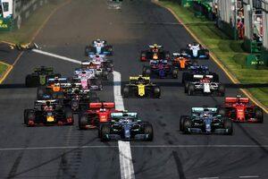 2020年F1第1戦オーストラリアGP、TV放送&タイムスケジュール
