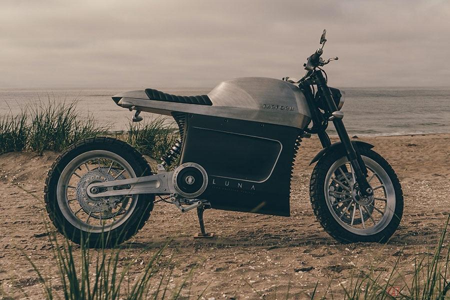 Tarform Motorcycles「Luna」 モダンなデザインの電動バイクがその姿を公開
