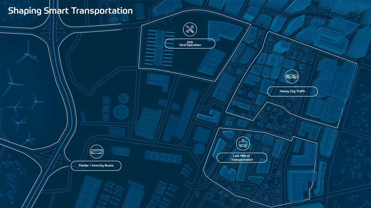 ZF:都市部の渋滞解消に向けて公共交通機関をクリーンでスマートに