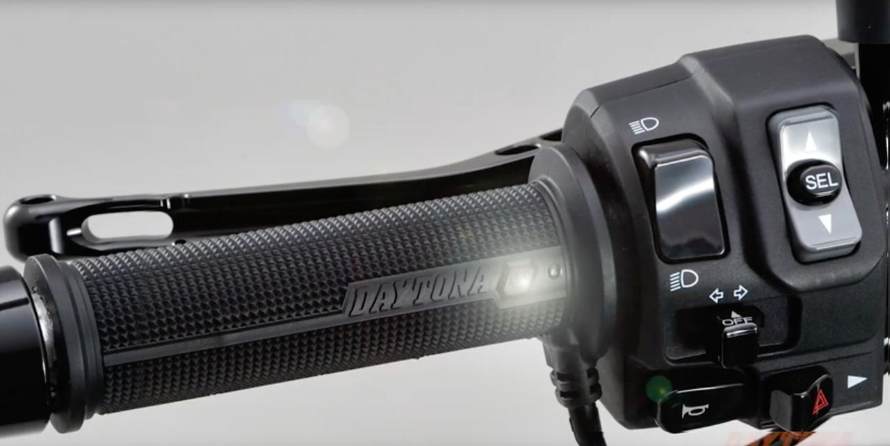 【新製品】スゴい「グリップヒーター」が出た!「しかも安い!」LEDスイッチをグリップに内臓した新型ホットグリップで寒い冬をスマートに乗り切ろう!<動画あり>