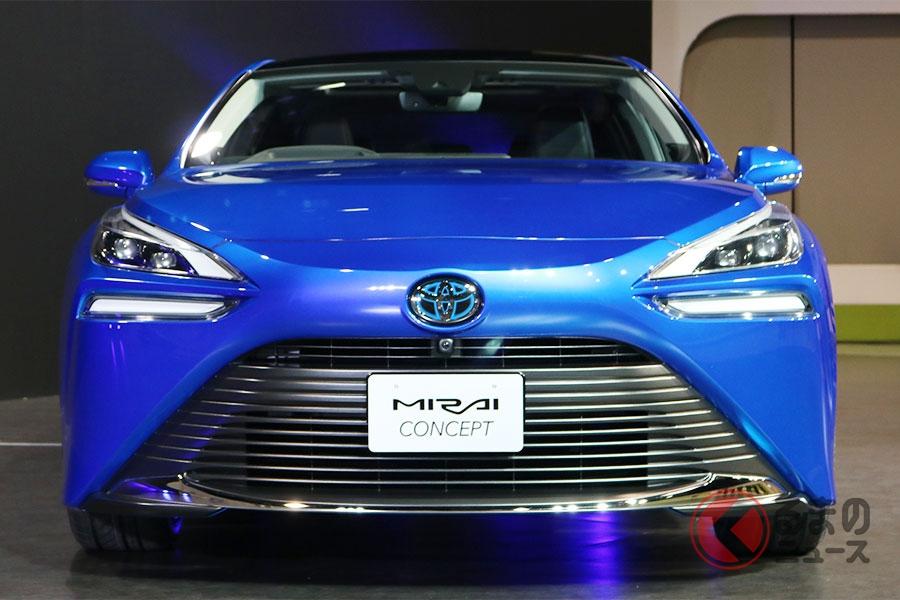 トヨタ 新型「ミライ」発表! 2代目は後輪駆動で20年末に発売へ
