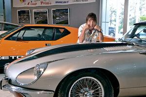 池沢早人師に訊くスーパーカーブームのウラ側「第18回:作品とは別の世界に存在する、憧れの名車・ジャガーEタイプ」
