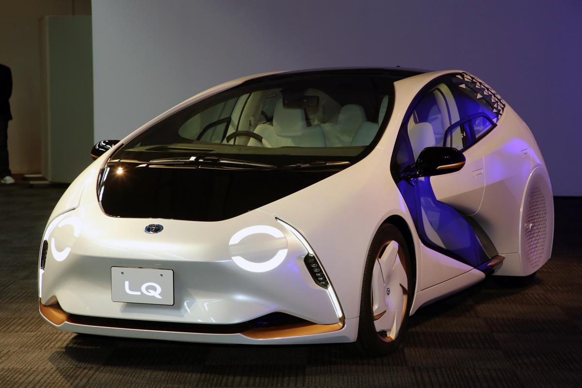 「TOYOTA Concept-愛i」から「LQ」に進化! 公道走行可能でより現実的な存在に【東京モーターショー2019】