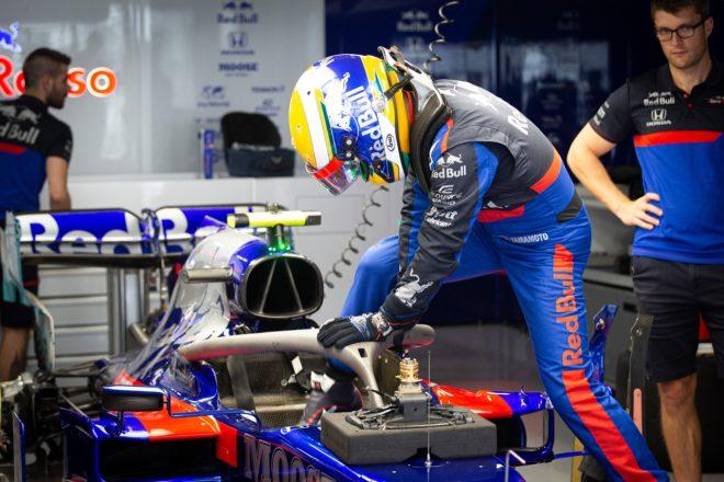 F1 Topic:山本尚貴の走りをトロロッソのエンジニアが分析。「彼の走りとフィードバックはダニールとまったく同じだった」
