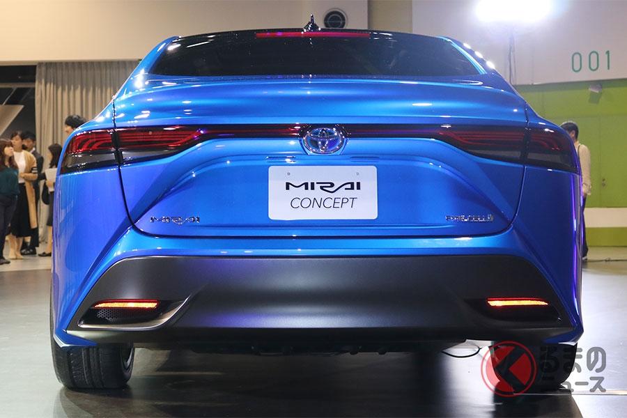トヨタ新型「ミライ」はマジェスタの後継か!? 2代目はガラリと格好良いエコカーへ