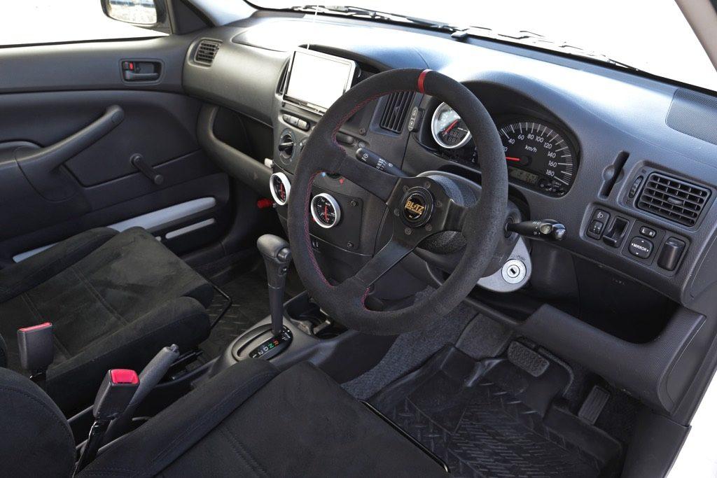 「BLITZのやりすぎ営業車がコレだ!」4速ATプロボックスのダルさをスーチャー化で改善!