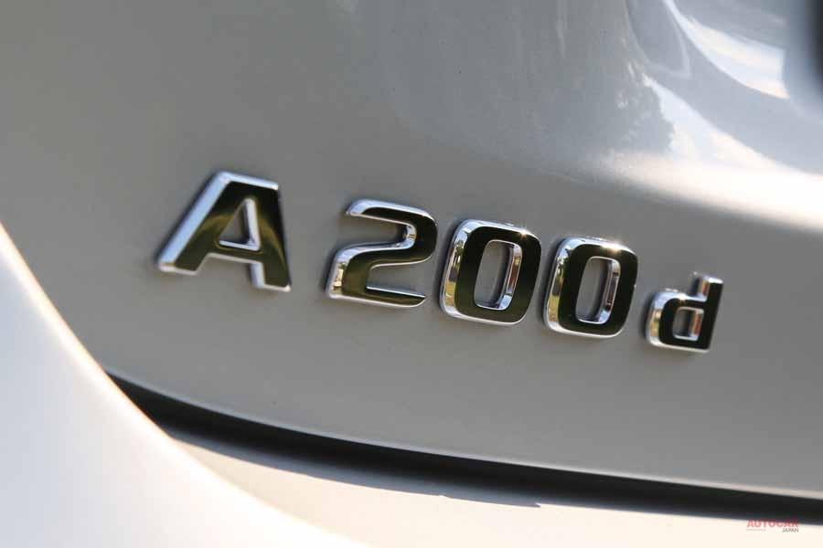 メルセデス・ベンツAクラス A200dの最先端ディーゼル・エンジンを解説