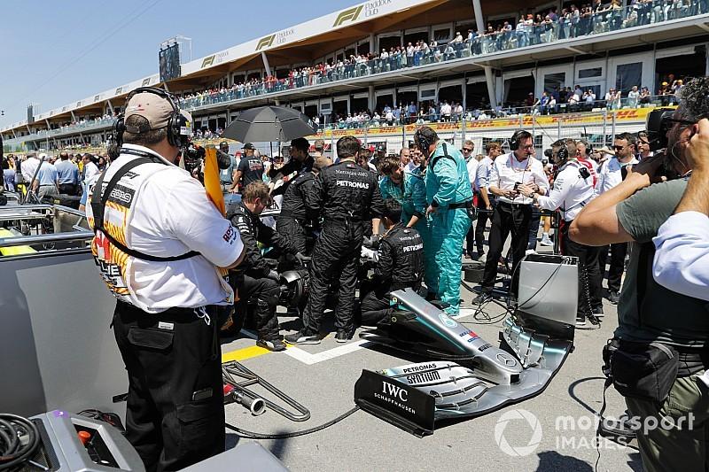 ハミルトンはスタートできるか分からなかった……メルセデスの落ち着かない1日|F1カナダGP