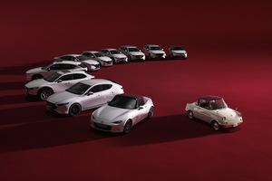 マツダ 創立100周年の「100周年特別記念車」を全車種に設定し受注開始