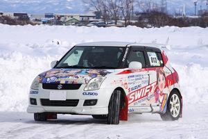 「痛車が雪道を駆け抜ける!?」モータースポーツパーク札幌で行われた痛冬走に潜入取材