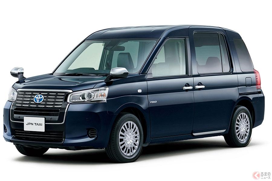 あっちもこっちも… 街中遭遇率が高くなった新世代タクシー「JPN TAXI」とは
