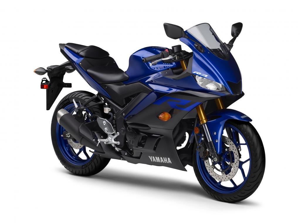 日本の発売は来春!倒立フォーク新採用のYZF-R3とYZF-R25、価格が決定/ヤマハ