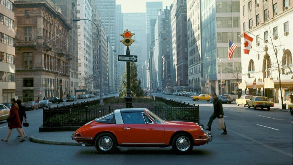 セールスマネージャーが切り取った、1960年代のニューヨークとポルシェ