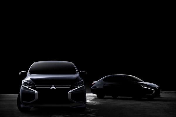 三菱 コンパクトカー・ハッチバック「ミラージュ」&セダン「アトラージュ」のデザイン一新