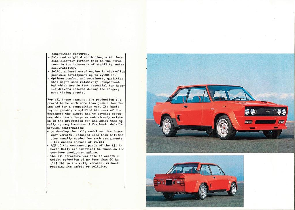 フィアット・アバルト131ラリー/ハコ好きにとって特別な存在である131アバルト【自動車型録美術館】第23回