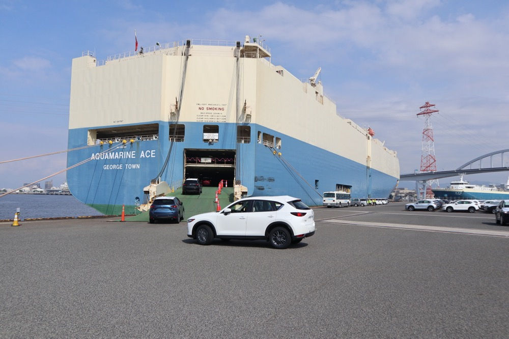 マツダ「船積み体験」で見た!ギャングたちの仕事が意外に丁寧だった