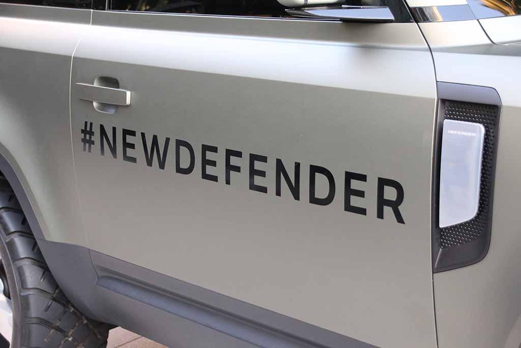 ランドローバー「新型ディフェンダー」を代官山 T-SITEでお披露目
